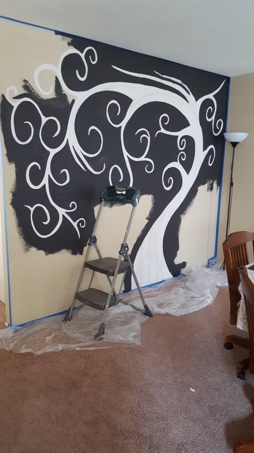 fam tree mural 3