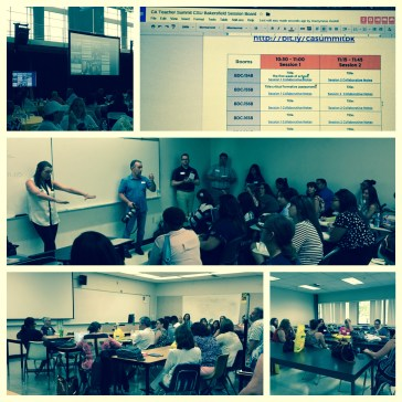 Edcamp-style sessions