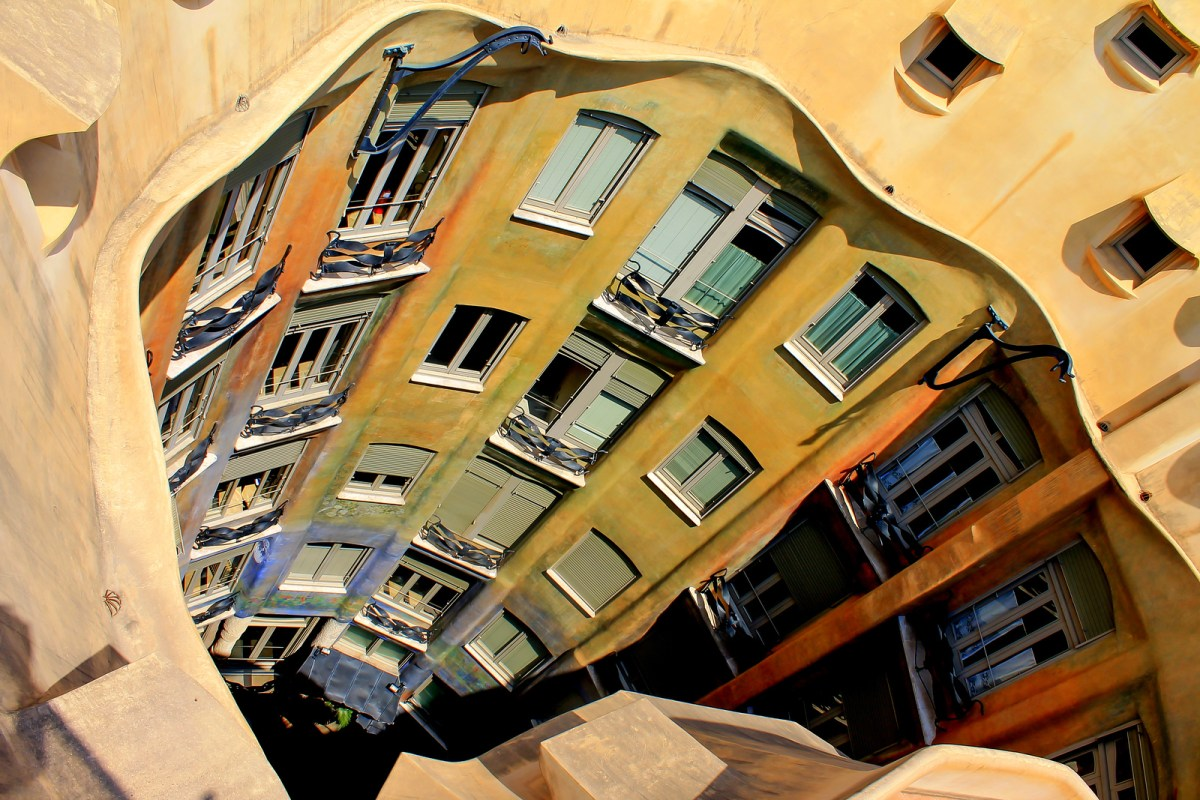 Barcelona City Break, Casa Mila