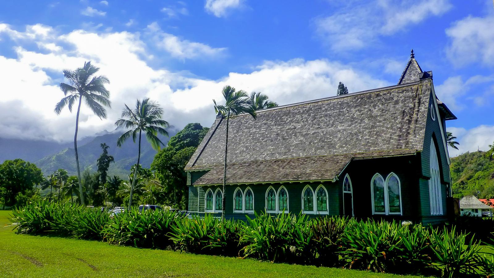 3 Week Hawaii Itinerary. Hanalei Town, Kauai