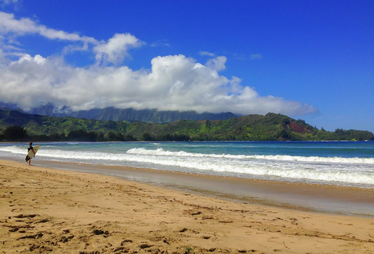 Best Beaches in Hawaii. Hanalei Bay