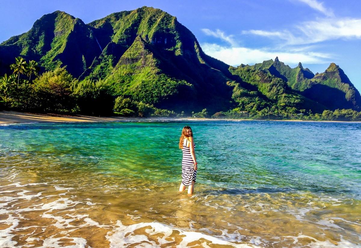 Best Beaches in Hawaii. Tunnels Beach, Kauai