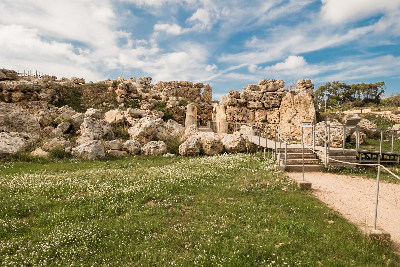 Malta Pictures - Prehistoric monuments in Malta