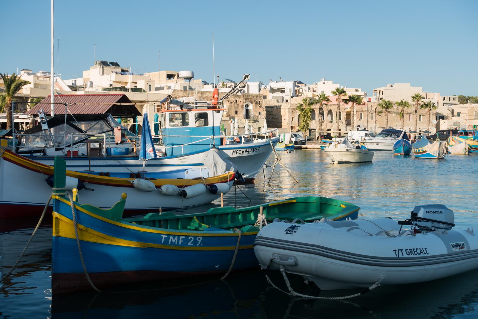 Malta Itinerary. Marsaxlokk
