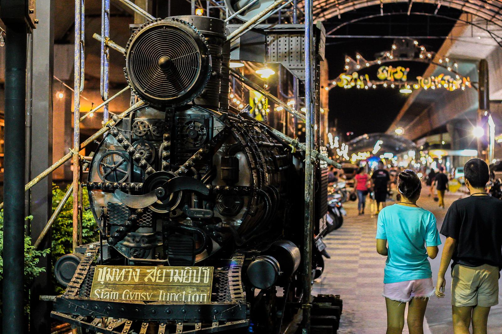 Siam Junction Night Market, Bangkok, Thailand