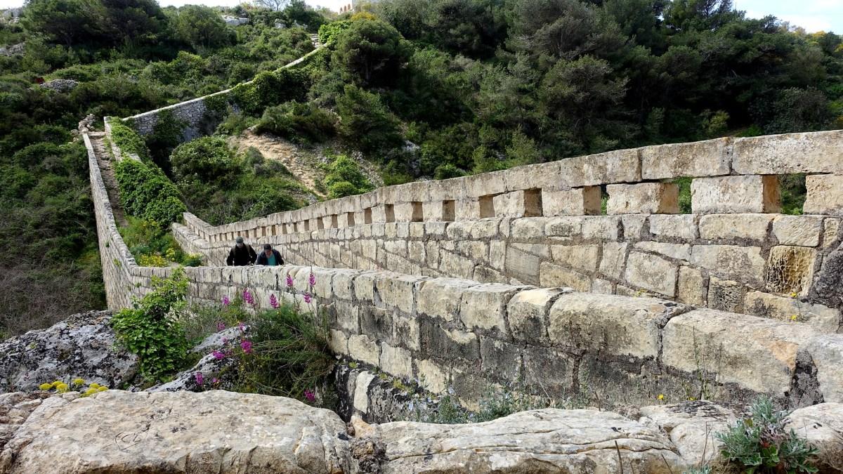 Victoria Lines Malta - Dwejra Lines section