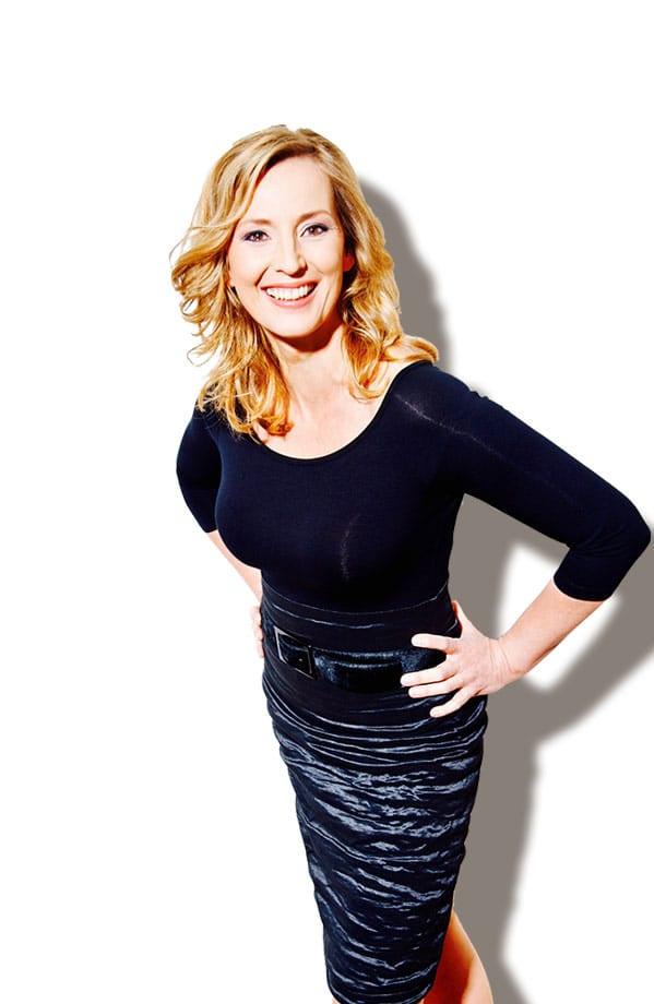 Kristina zur Mühlen  Gala-Kleid  Event-Moderation
