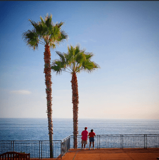 Treasure Island Park, Looking at Ocean
