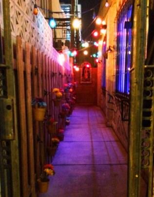 The entrance to La Comida