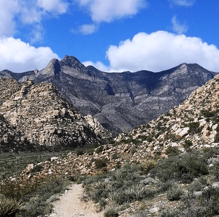 1st Time Solo Hiking Red Rock's Moenkopi Trail & Accidentally Beyond! (NV) (2/6)