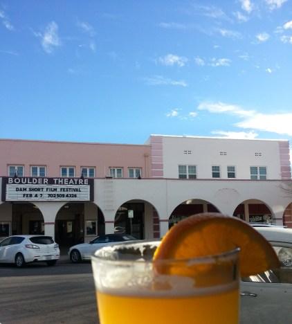 Drinking Beer in Boulder City