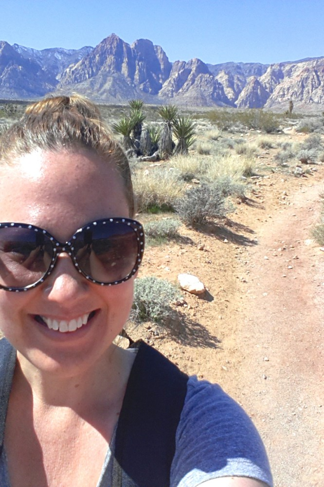 1st Time Solo Hiking Red Rock's Moenkopi Trail & Accidentally Beyond! (NV) (3/6)