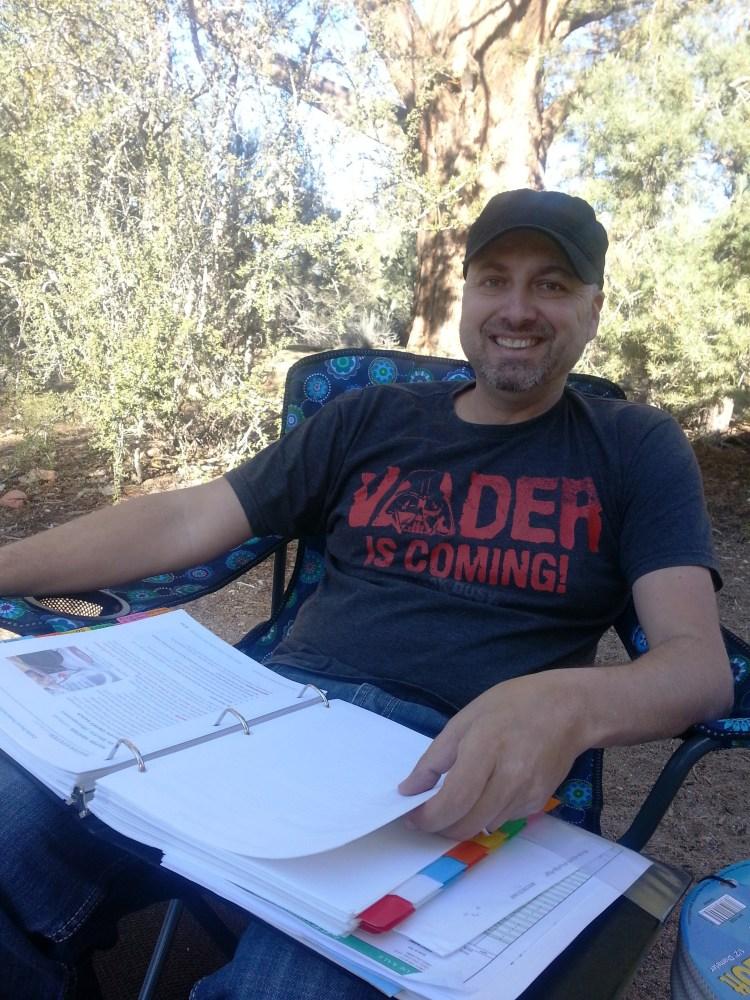 Travel Trailer Camping at Serrano Campground, Big Bear Lake, California (6/6)