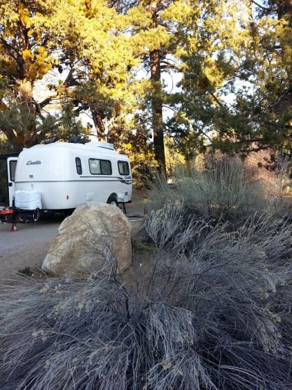 Spot #40, Snowberry Loop, Serrano Campground, Big Bear Lake, CA.