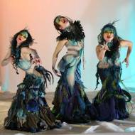 Scylla costumes for Desert Sin Dance Company. Designed by Kristin Costa.