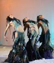 Scylla costumes for Desert Sin Dance Company. Designed by Kristin