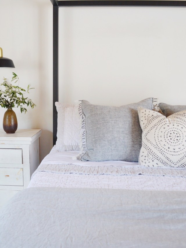 dream master bedroom styling