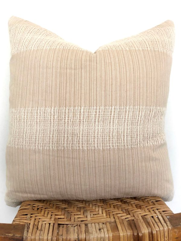 vintage neutral pillow