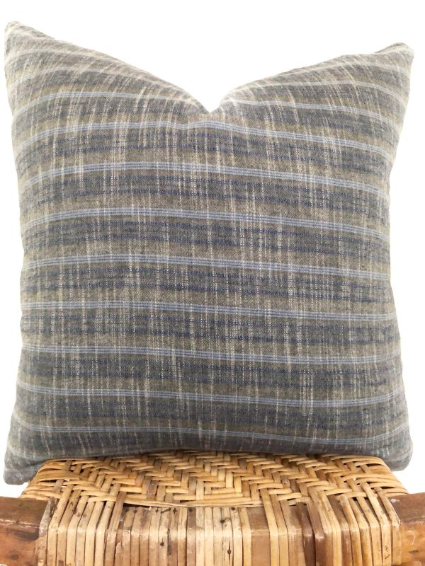 vintage stripes pillow