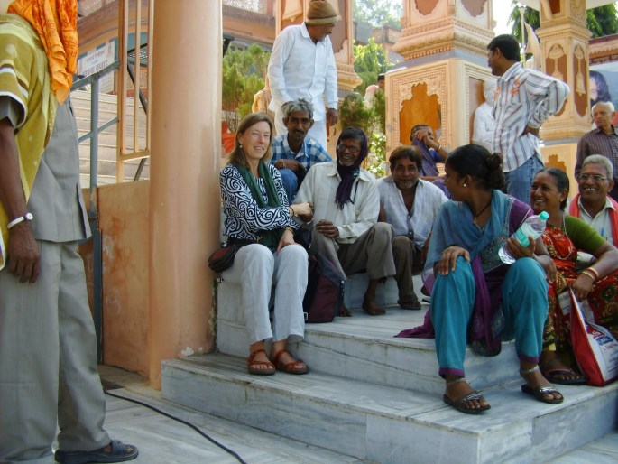 Kristine in Rishikesh