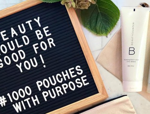 Pouches with Purchase Beautycounter