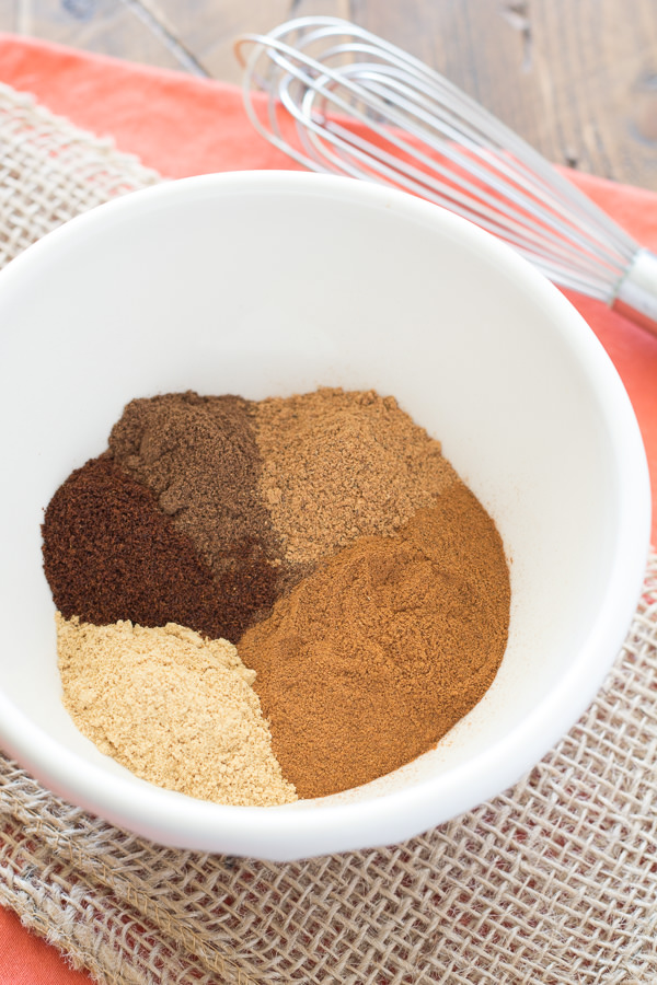 Make your own homemade pumpkin pie spice in just minutes with ingredients you probably already have in your kitchen!