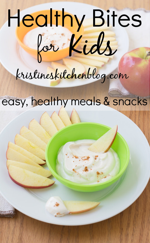 Healthy Bites for Kids: A series of easy, healthy recipes for kids | Kristine's Kitchen