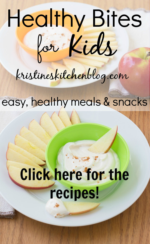 Healthy Bites for Kids: easy recipes for breakfasts, lunches & snacks! | Kristine's Kitchen