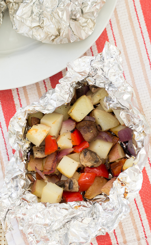 Grilled Vegetables in Foil Packets - easy & yummy veggies, without turning on your oven   Kristine's Kitchen