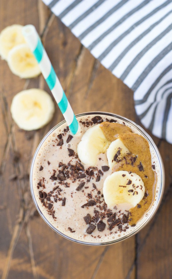 You'll feel like you're indulging with this healthy Cocoa Almond Protein Smoothie! Over 25 grams of protein and it tastes like dessert!