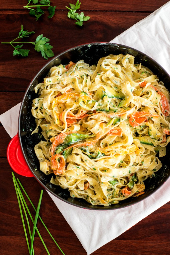 Fettuccine-with-Ricotta-and-Zucchini-9
