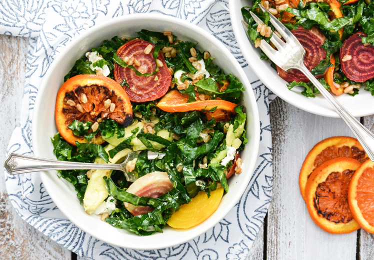 Roasted Orange and Beet Salad