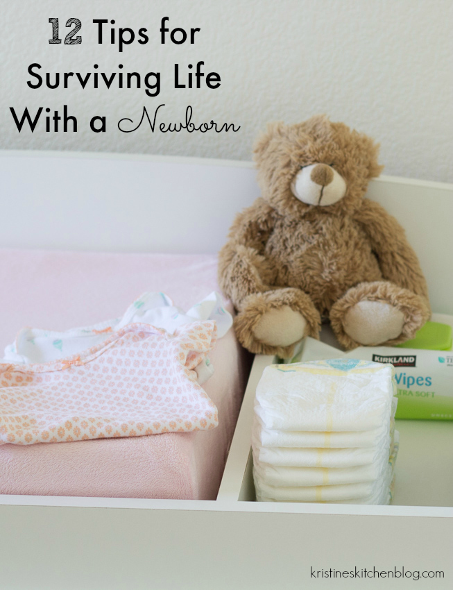 Tips for Surviving Life with a Newborn