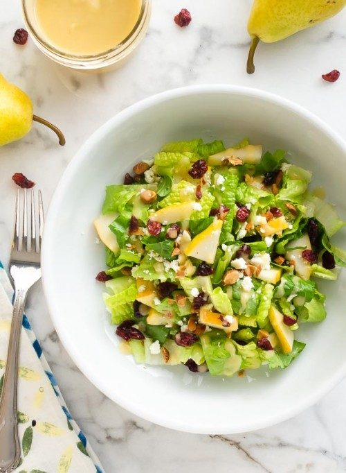 Cranberry pear salad