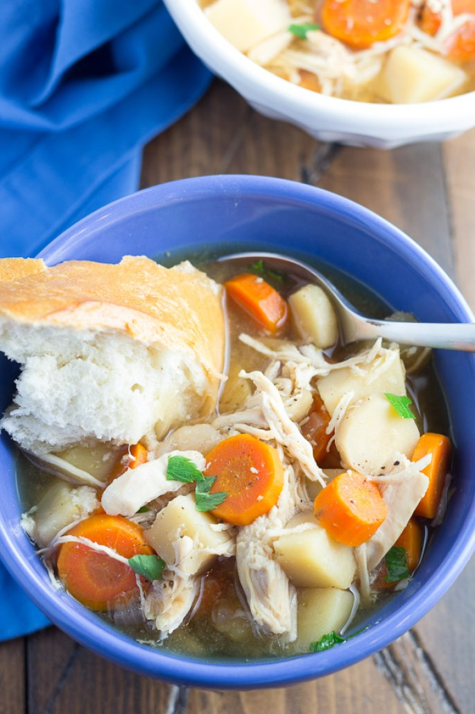 Dinner Ideas For Two chicken soup