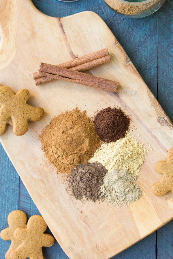Add this homemade gingerbread spice mix to pancakes, waffles, breads, coffee, cookies and more! This recipe is easy to make with just a few ingredients. One of our favorite recipes for Christmas and holiday baking! | www.kristineskitchenblog.com