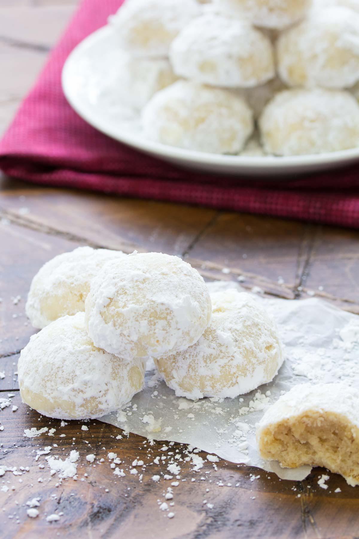 Butter Snowballs Recipe
