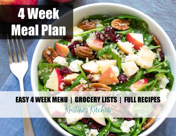 Healthy Family Meal Plan