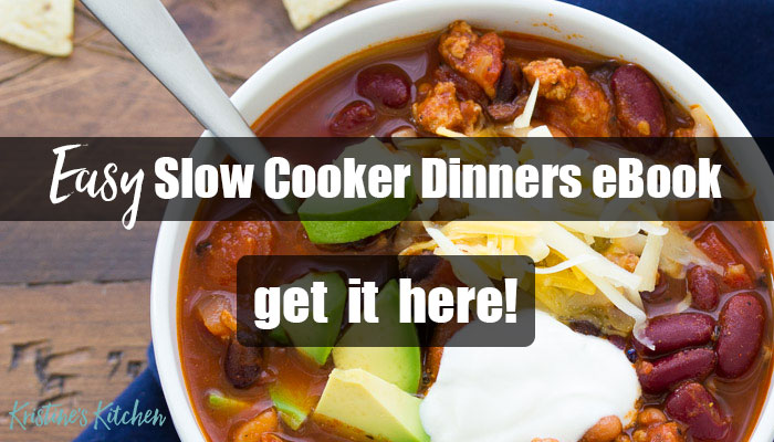 Easy Slow Cooker Dinners eBook