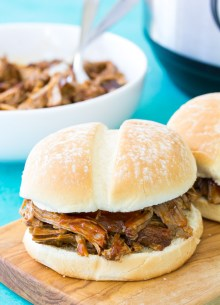 This Instant Pot Pulled Pork is the most amazing, tender, fall apart pulled pork you will ever eat! I'll teach you how to make my best pulled pork sandwiches for your family's dinner. You can make this easy pulled pork recipe in your slow cooker, too!