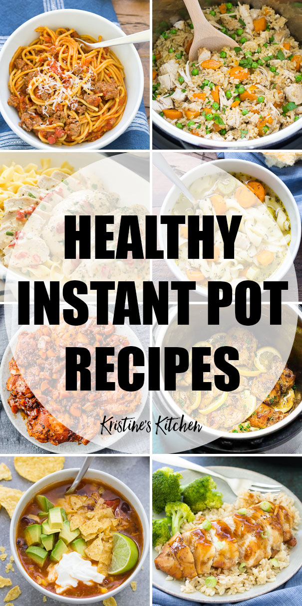 29 Healthy Instant Pot Recipes