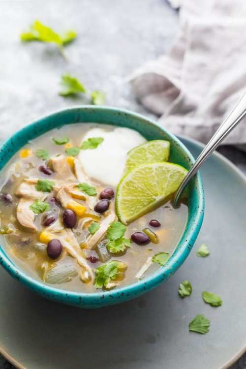 Shortcut Instant Pot Chicken Chili Verde Soup