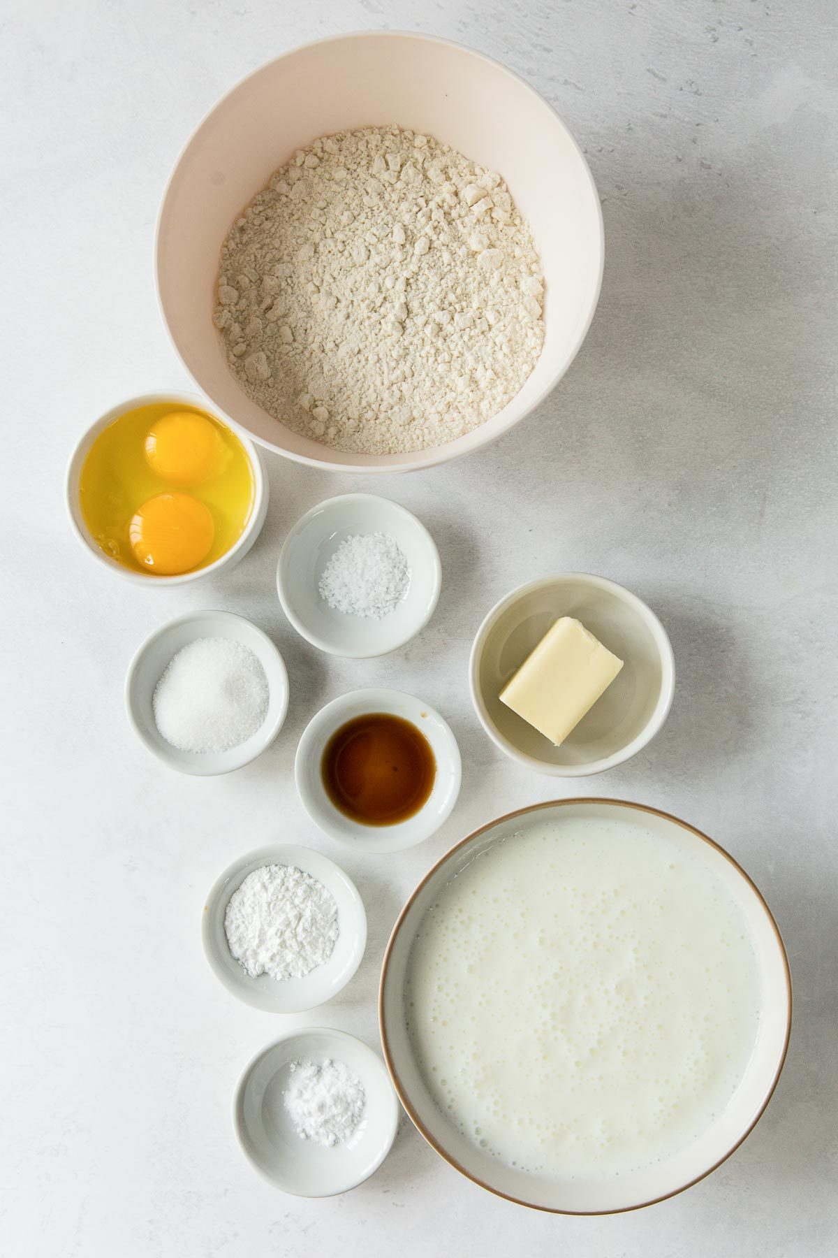 ingredients for buttermilk pancakes