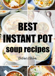 Easy Instant Pot Soup Recipes! Here you'll find some of the best pressure cooker soup recipes to help you get a quick dinner on your table.
