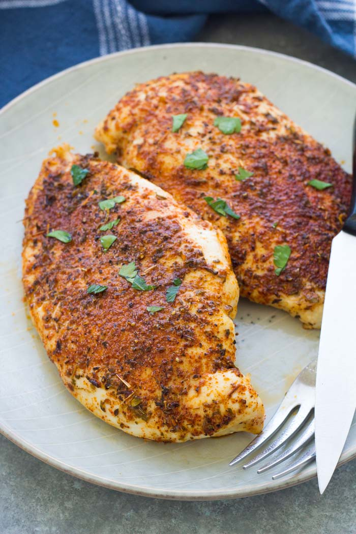 Baked Chicken Breast - Juicy and Flavorful!