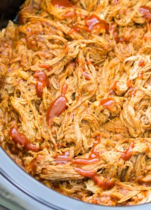 bbq pulled pork in slow cooker