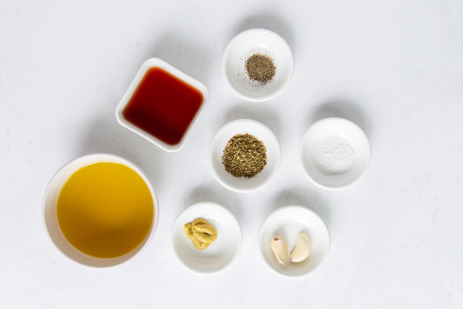 ingredients for greek salad dressing recipe