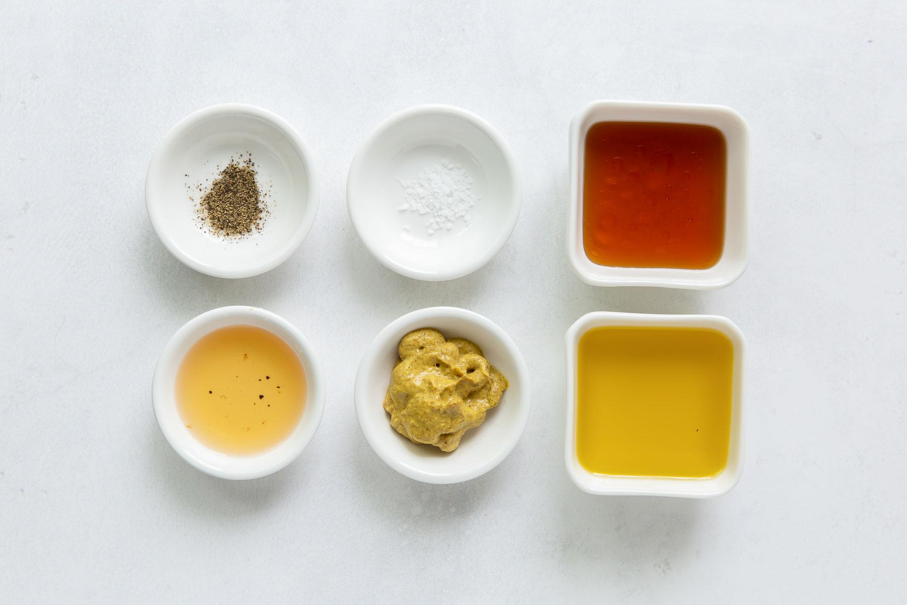 ingredients for honey mustard dressing recipe