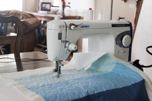 quilting with a Juki
