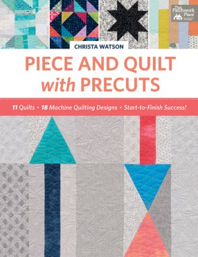 Piece and Quilt with Precuts kristinesser.com